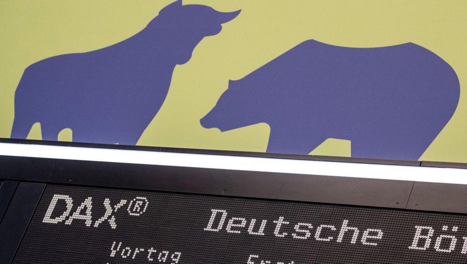 Bärenstimmung macht sich breit an der Frankfurter Börse