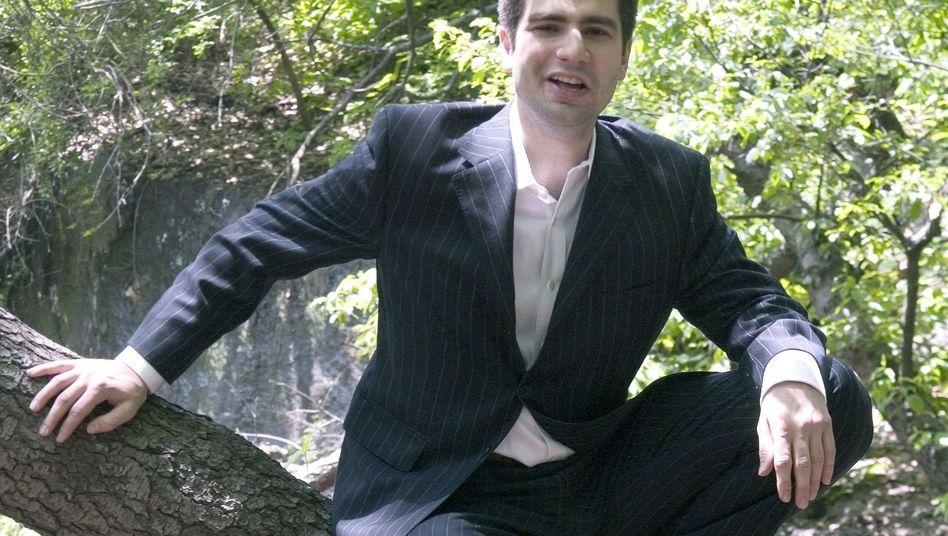 Ned Vizzini im Central Park: Wunderkind des New Yorker Literaturbetrieb
