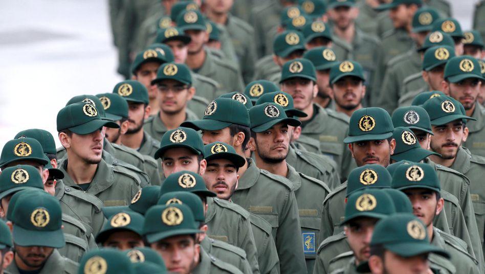 Iranische Revolutionswächter: Ideologische Speerspitze des Regimes