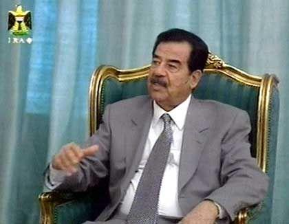 """Chasradschi: """"An Saddams Sturz zu arbeiten, ist die Pflicht eines jeden ehrbaren Irakers"""""""