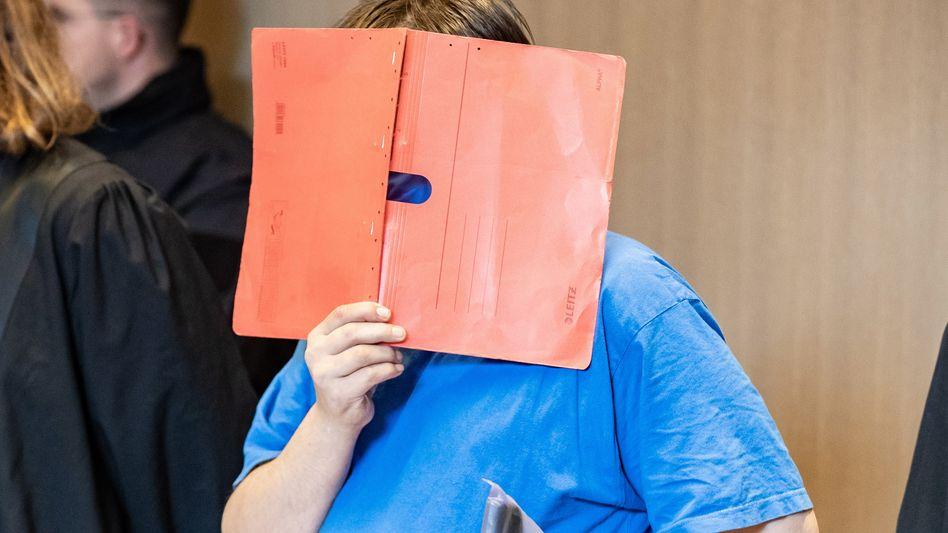 Angeklagter am Bochumer Landgericht (Archivbild)