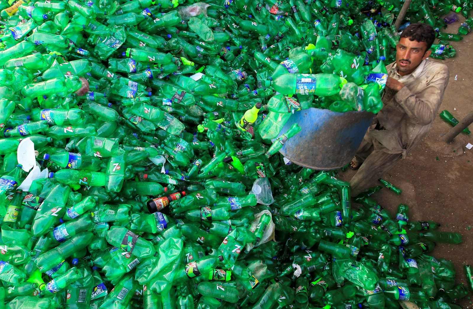 Plastikmuell-Recycling