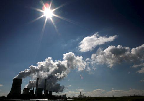 Braunkohlekraftwerk in Nordrhein-Westfalen