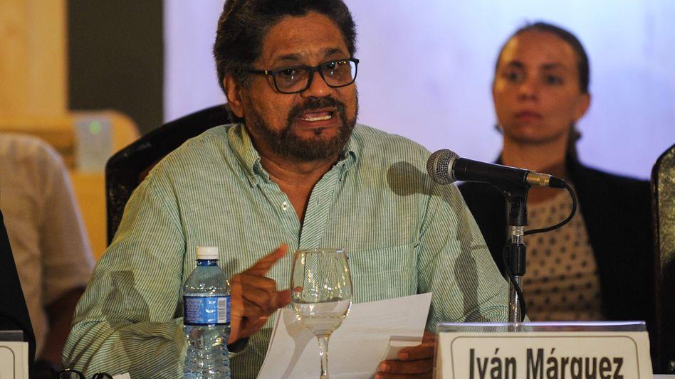 Ivan Marquez, Farc-Chefunterhändler