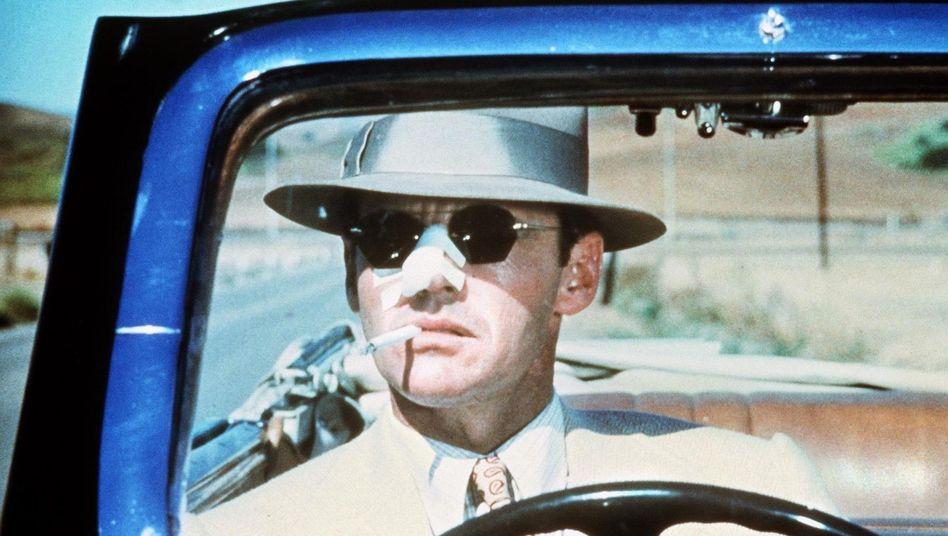 """Filmthema Schmiergelder: Jack Nicholson in """"Chinatown"""""""
