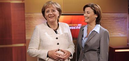 """Angela Merkel bei Sandra Maischberger: """"Das Schweigen war die Grundvoraussetzung"""""""
