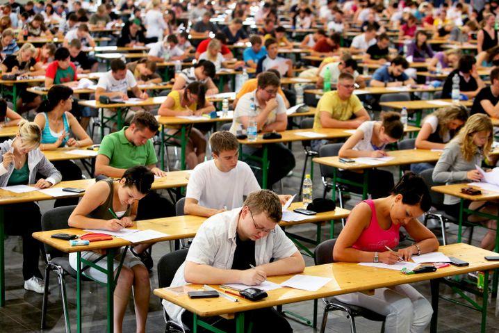 Prüfung in der Magdeburger Otto-von-Guericke-Universität
