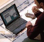 Ob Laptop oder Mainframe-Rechner: Auf der Cebit nimmt die Hardware traditionell einen großen Raum ein