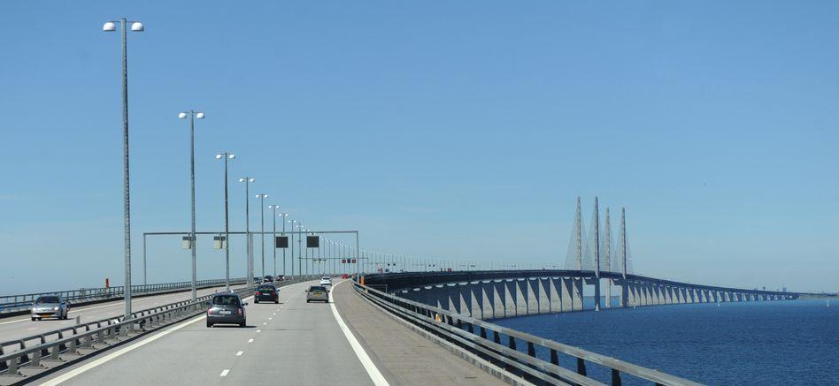 Die Öresundbrücke zwischen Kopenhagen und Malmö, hier auf einem Archivbild aus dem Jahr 2011