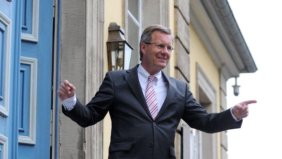 """Ministerpräsident Wulff: """"gemeinsamer Kandidat von CDU, CSU und FDP"""""""