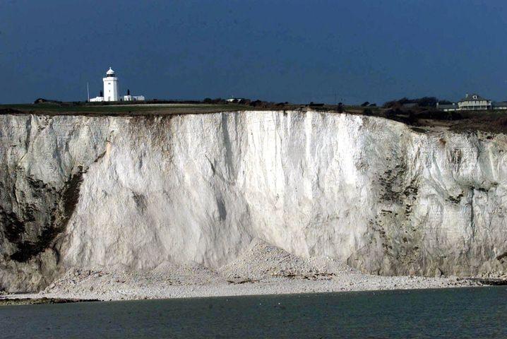 Kliffe von Dover: Myriaden Kalkorganismen im Super-Treibhaus