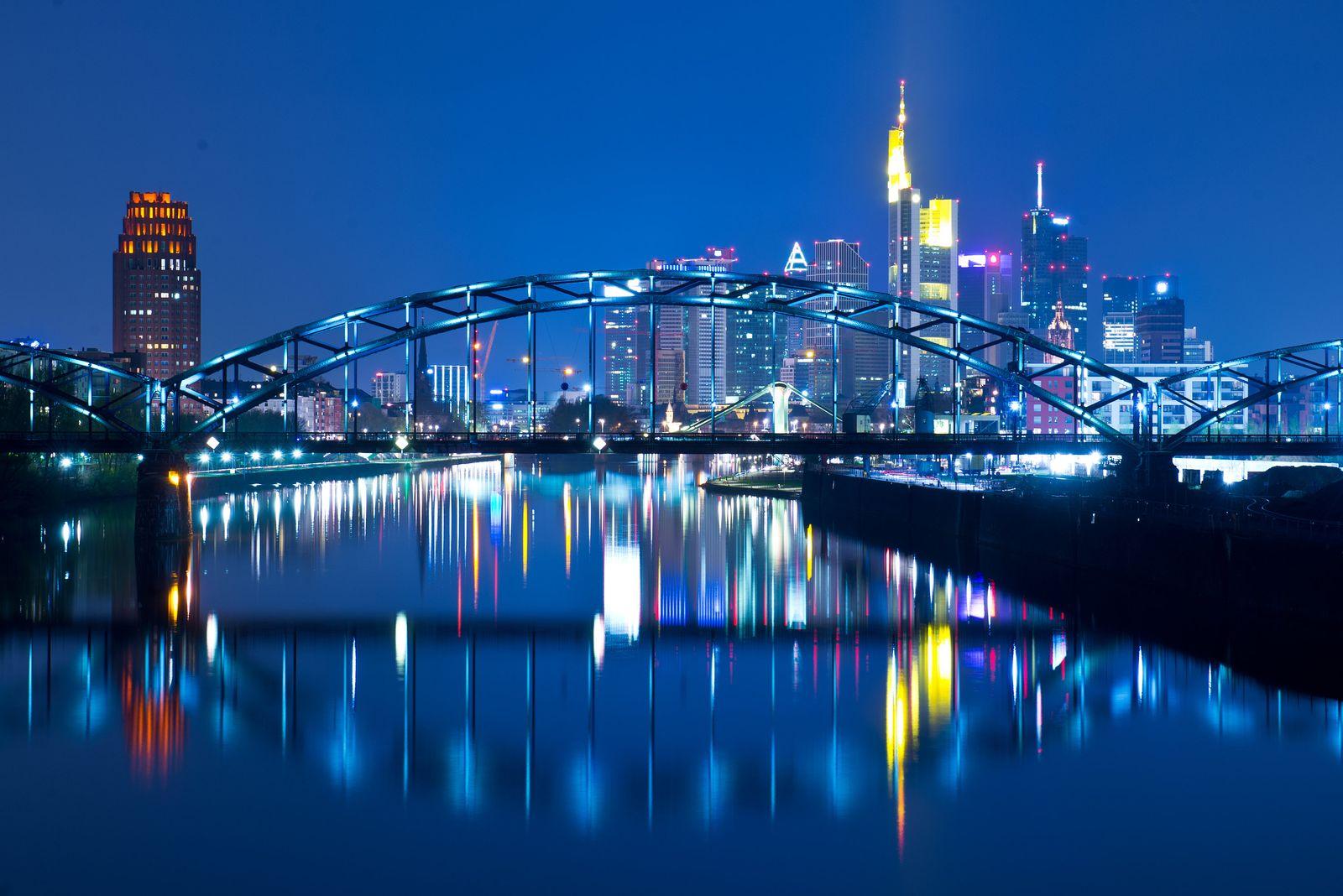 Luminale 2014 Frankfurter Skyline