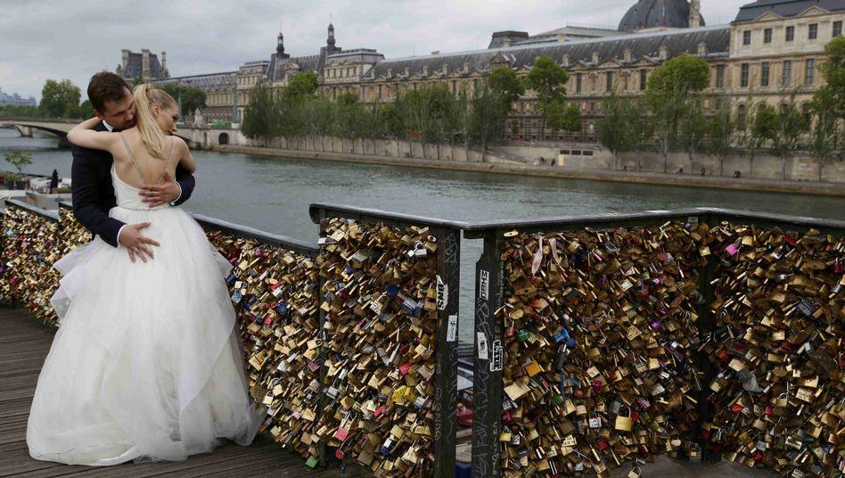 Pont des Arts in Paris: Schluss mit Schloss