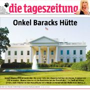 """""""tageszeitung""""-Titelblatt: Rassistische Überschrift?"""