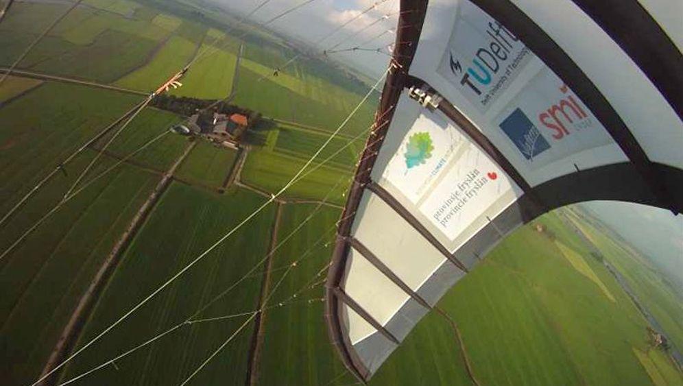 Lenkdrachen-Konzept: Jagd auf die Kraft des Winds