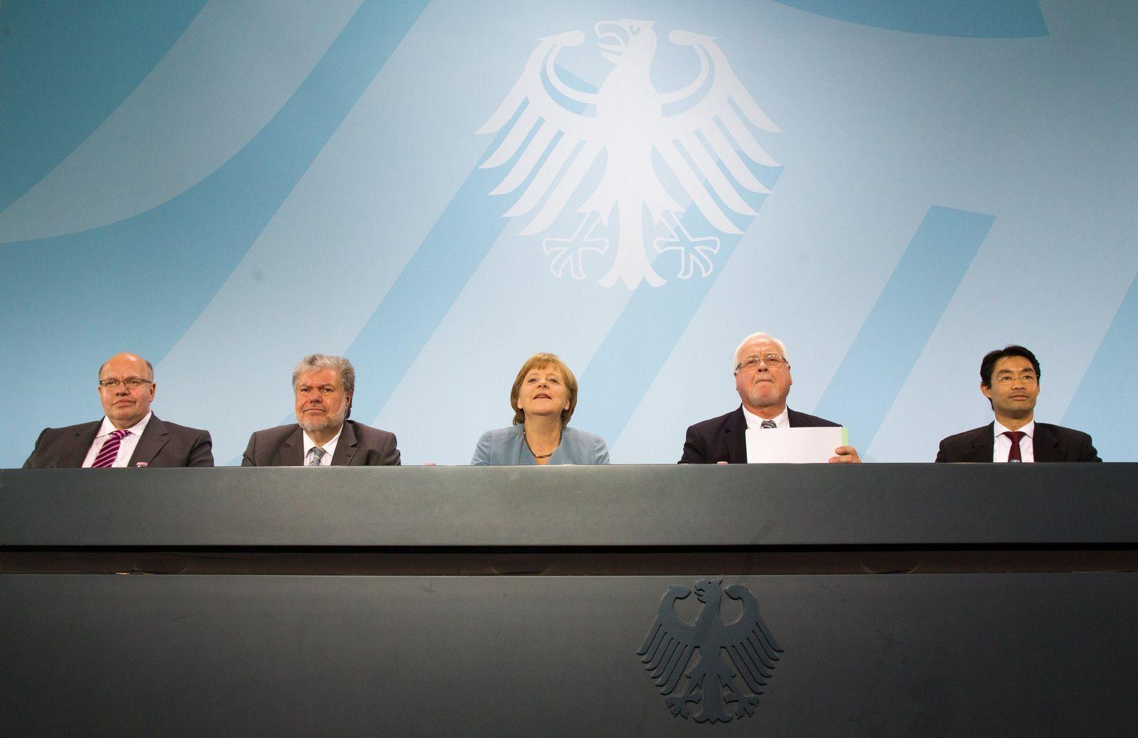 Merkel Energiegipfel