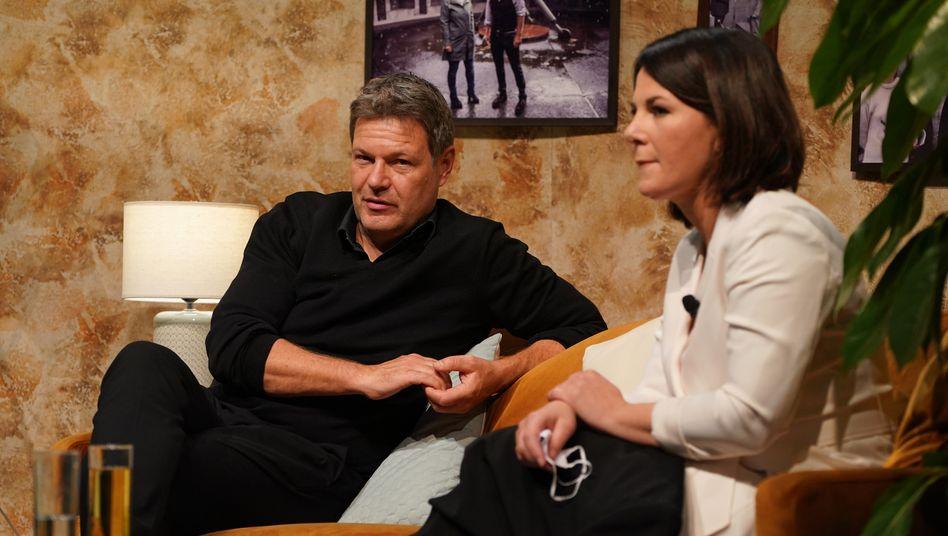Grünenchefs Robert Habeck und Annalena Baerbock