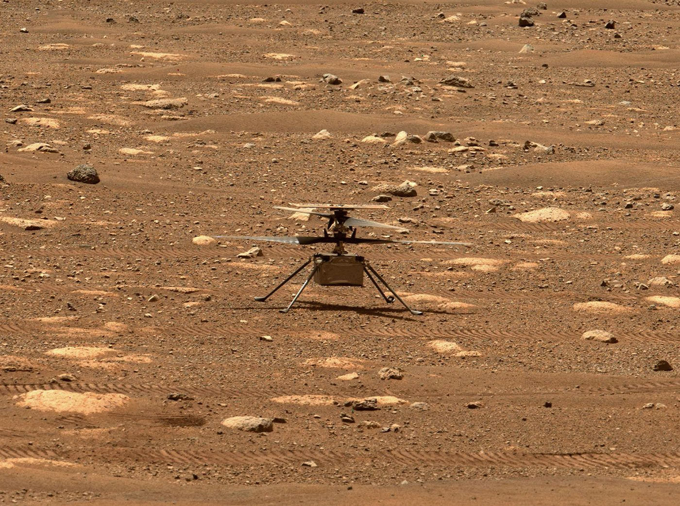 Mars-Hubschrauber «Ingenuity»