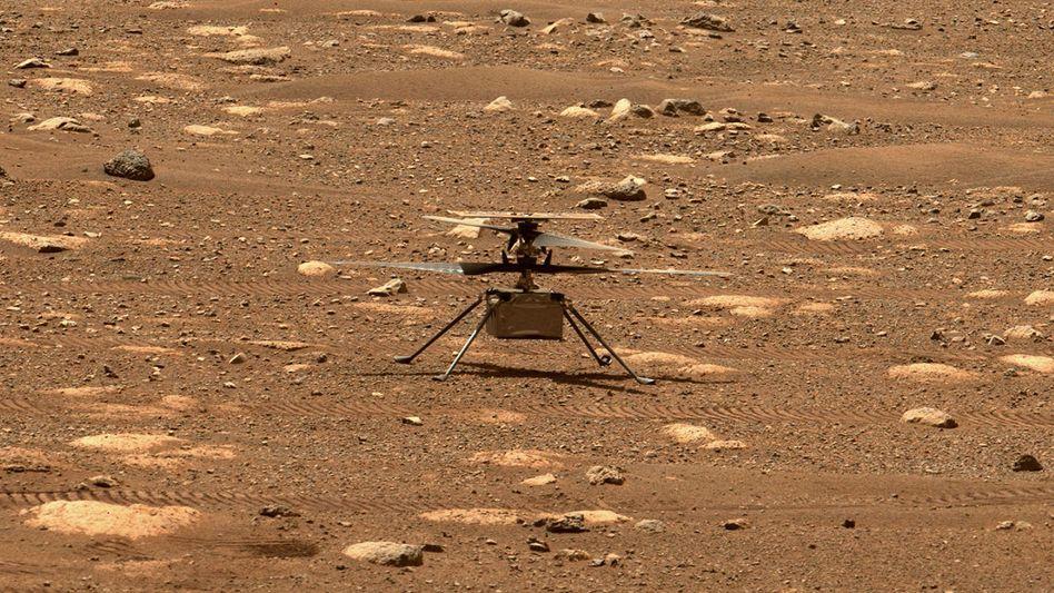 »Ingenuity«: Der Minihubschrauber hat den ersten Flug auf einem anderen Planeten absolviert