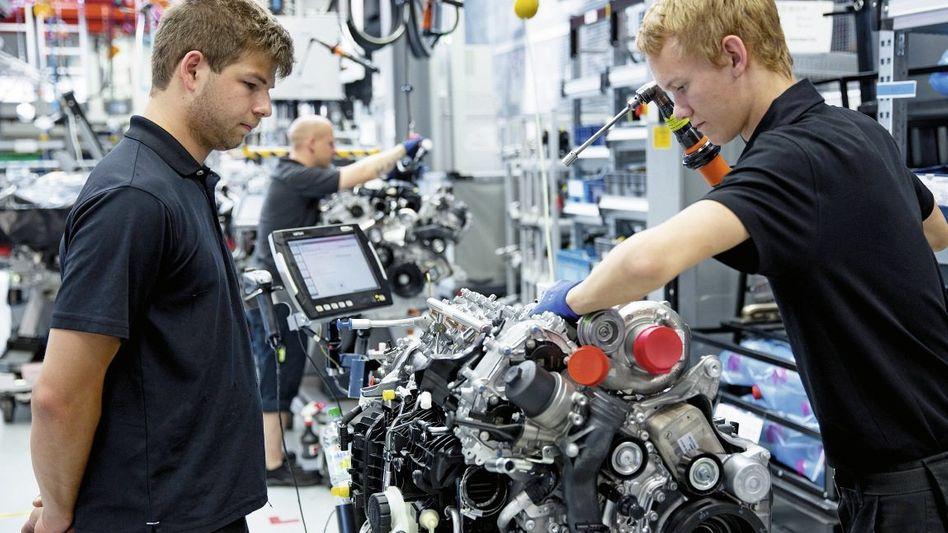 Motorenproduktion in der Autoindustrie: Klischee vom »Homo faber«
