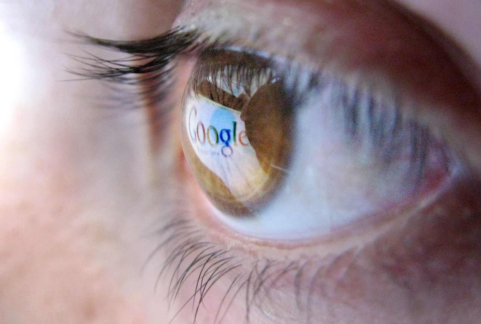 Google im Auge