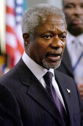 """Uno-Generalsekretär Kofi Annan: """"Illegales, unethisches und korruptes Verhalten"""""""