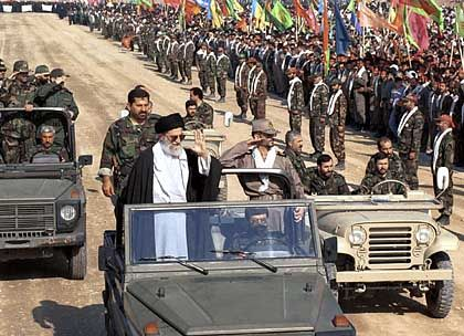 The Iranian Ayatollah is the true seat of power in Iran and functions as the country's commander in chief.