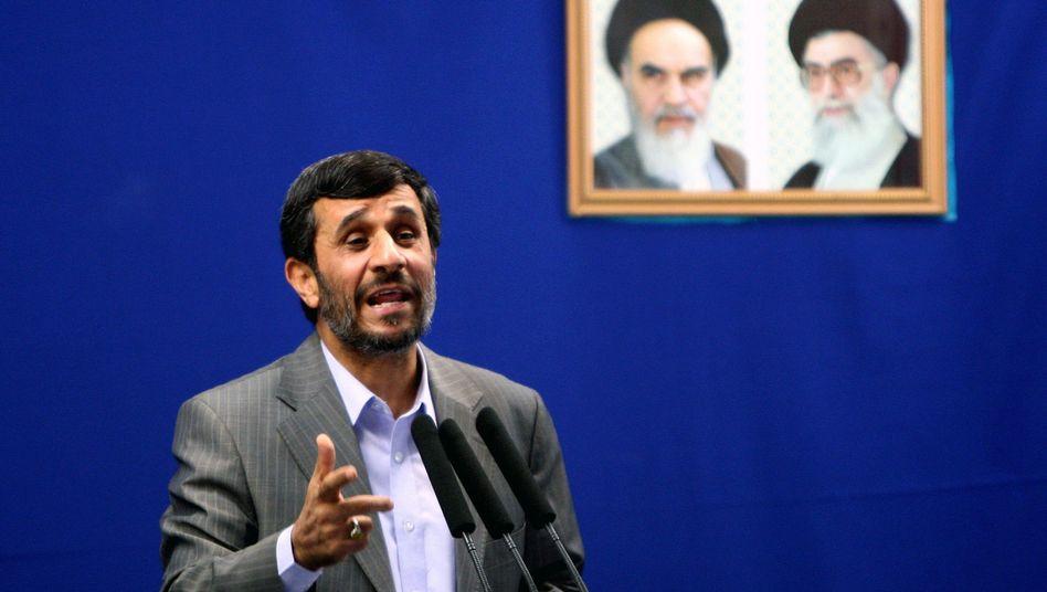 Iranischer Präsident Ahmadinedschad (Archivbild): Holocaust-Leugnung auf großer Bühne