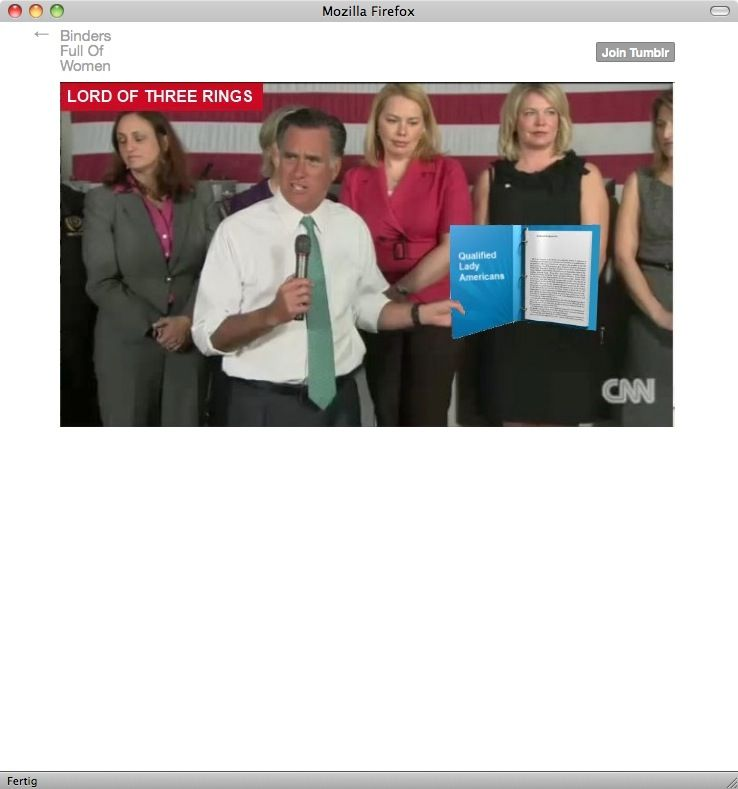 Romney Obama TV-Debatte/ Netz-Reaktionen