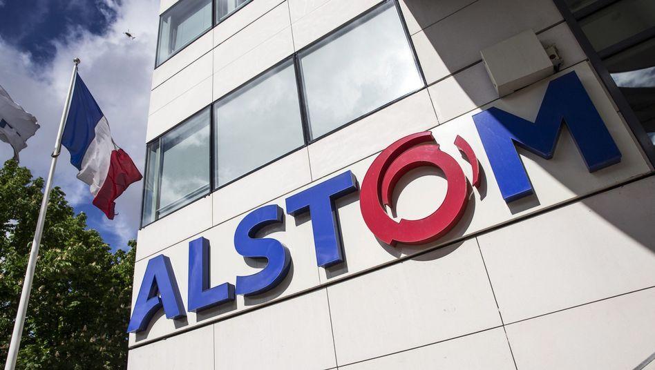 "Alstom-Logo in Paris: ""Intensive Gespräche mit allen Beteiligten"""