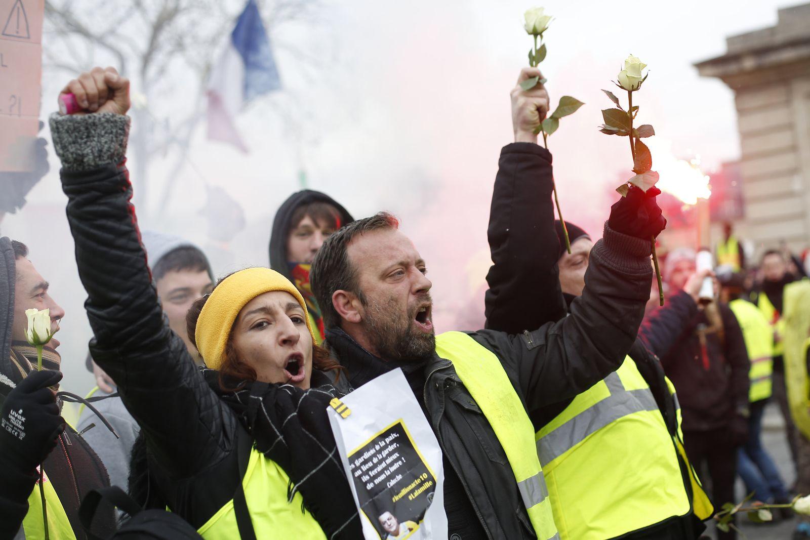 Erneut «Gelbwesten»-Proteste in Frankreich