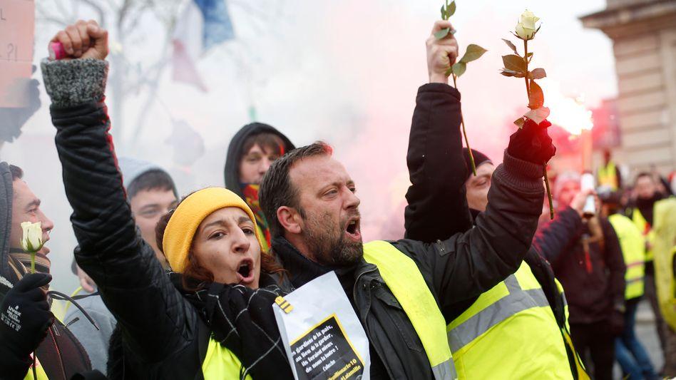«Gelbwesten»-Demonstranten