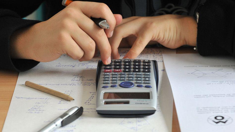 Mathematik als Problem? In den Mint-Fächern scheitern Studenten überdurchschnittlich oft