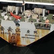 Chinesisches Waffenschiff: Zurück in die Heimat