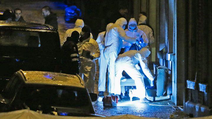 Belgien: Zugriff in Verviers