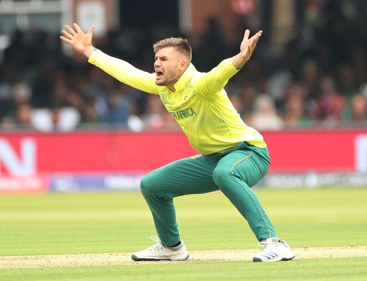 Verzweiflung: Aiden Markram und Südafrika sind bei der Cricket-WM ausgeschieden.