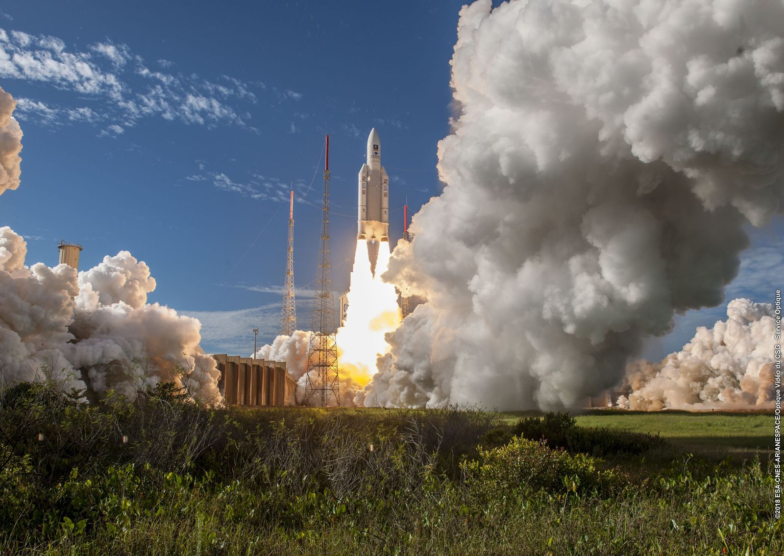 Galileo-Satellitenstart