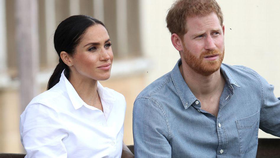 Herzogin Meghan und Prinz Harry: Künftig als Produzenten tätig