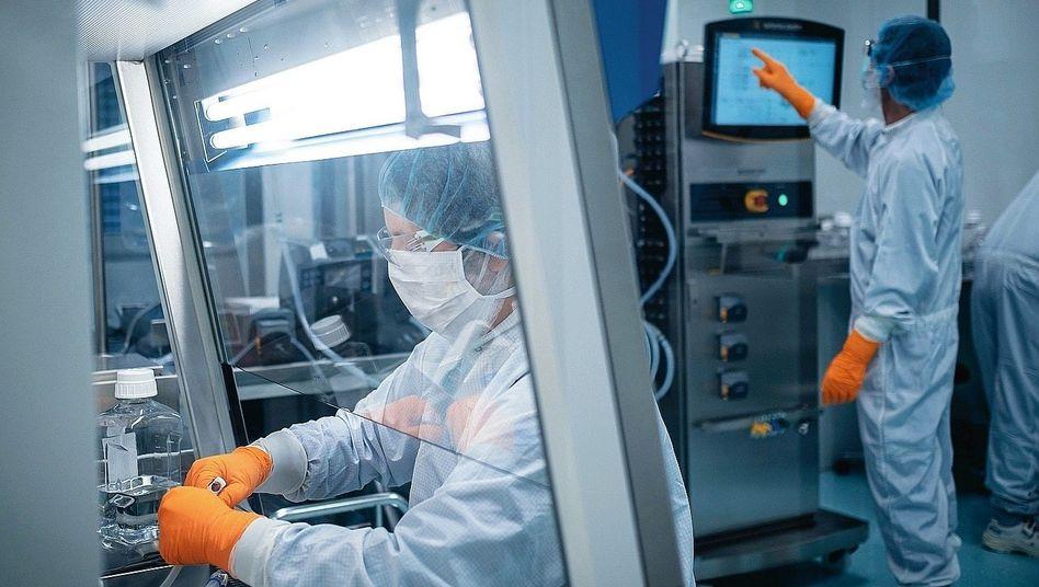 Biontech-Labor in Mainz:Über Nacht ins Rennen eingestiegen