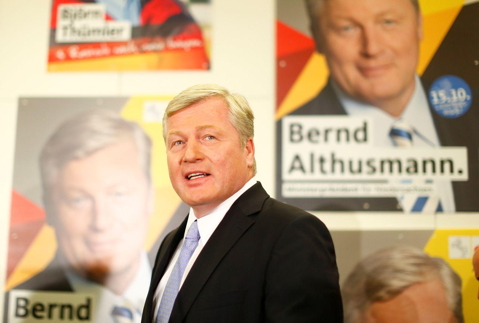 Landtagswahl Niedersachsen / Bernd Althusmann