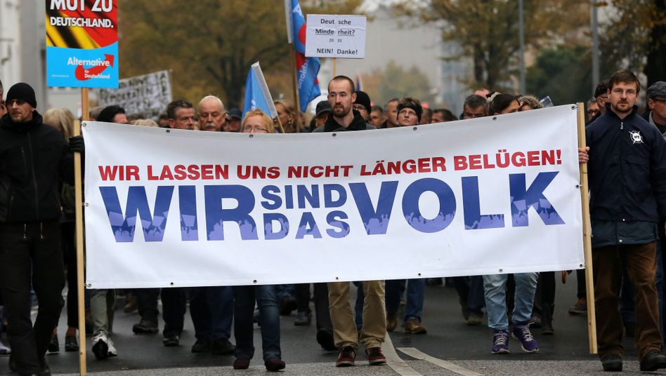 AfD-Demo in Rostock