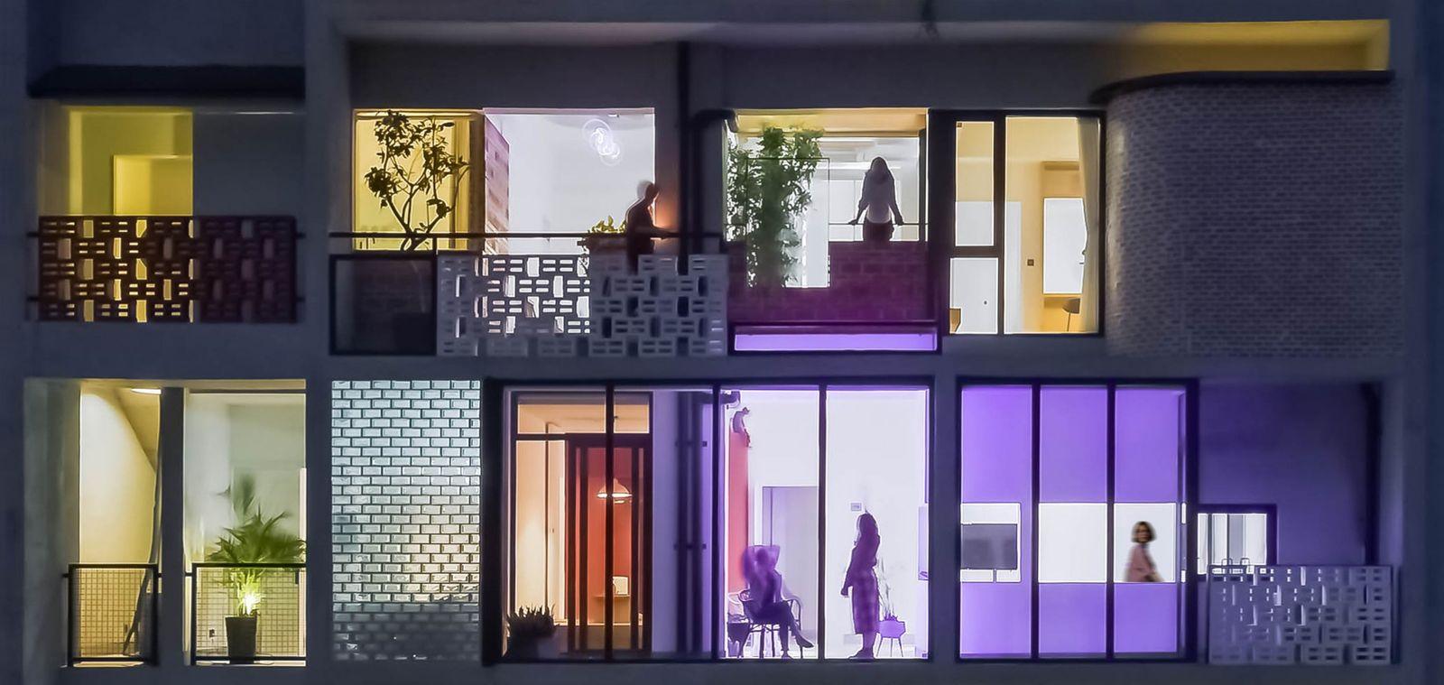 Dezeen Awards 2020 The Borderless Community of Zi Ni Twelve Portals by Fei Architects