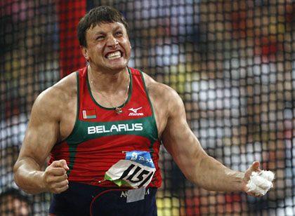 Hammerwerfer Tichon: Des Dopings überführt