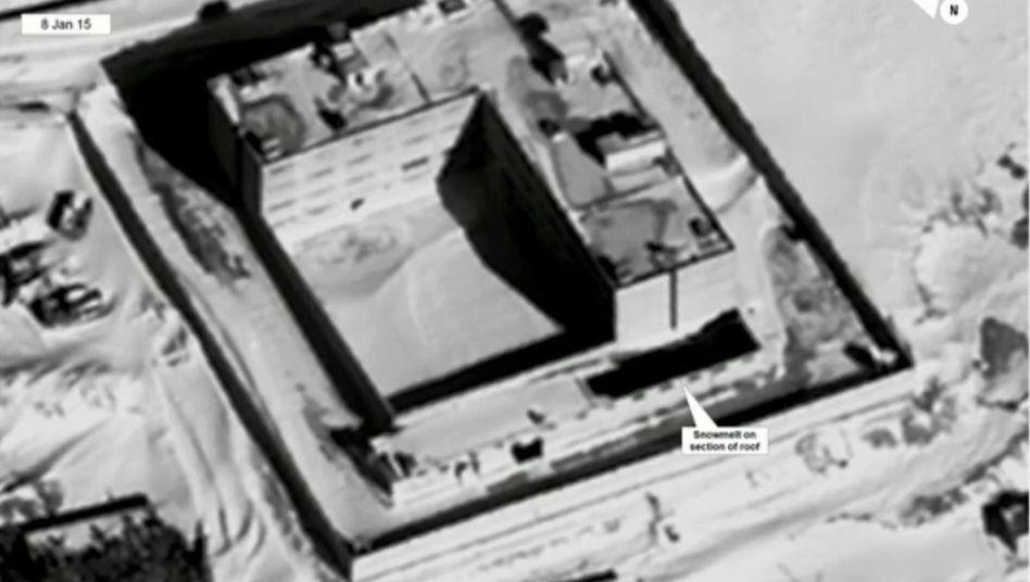 Satellitenaufnahme von syrischem Gefängnis in Sednaja