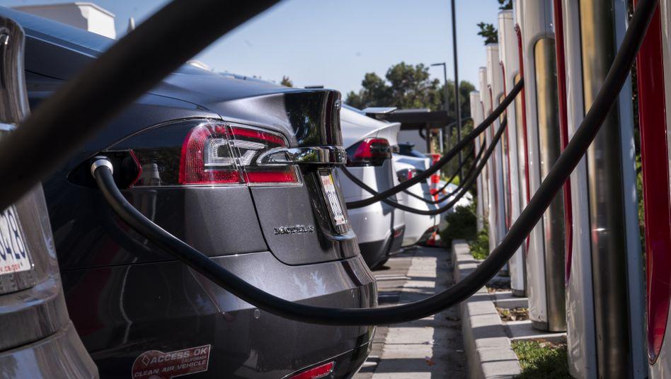 Elektroautos in Concord, Kalifornien