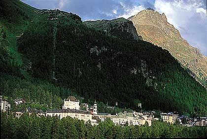 Pontresina: Bergsteiger sind hier seit jeher willkommen