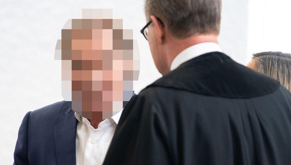 Angeklagter im Stuttgarter Landgericht