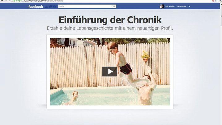 Schritt für Schritt: So richten Sie Facebook Chronik ein