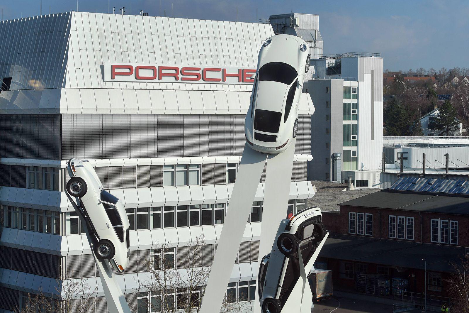 EINMALIGE VERWENDUNG Porsche/ Zuffenhausen