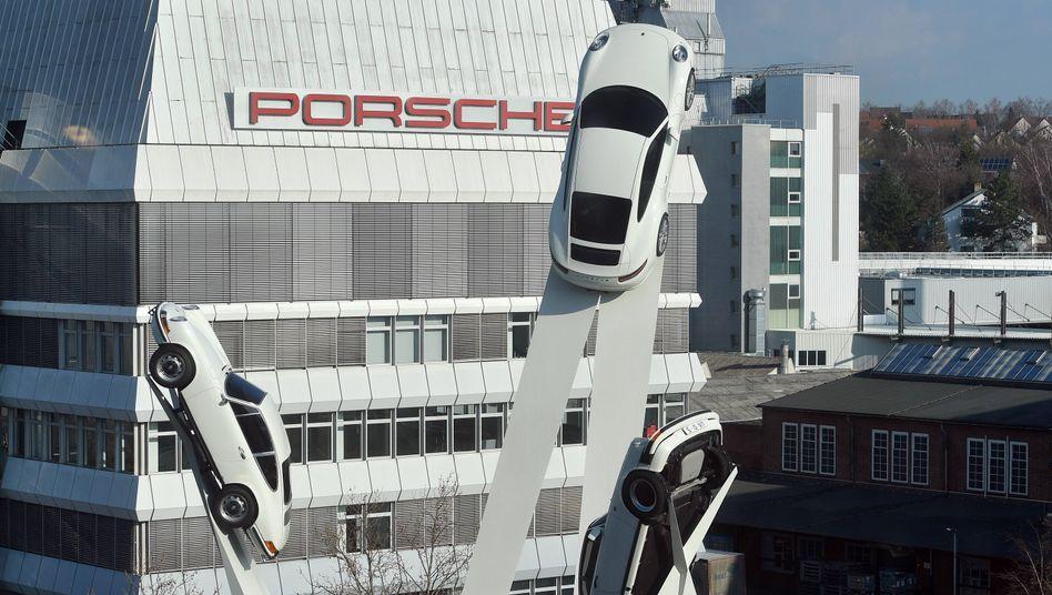 Porsche-Zentrale in Stuttgart-Zuffenhausen